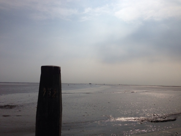 Sea at the Island of Schiermonnikoog